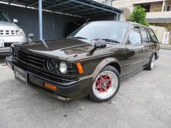 沖縄市 Garage SILVER 日産 ブルーバードバン  ブラウン 13.9万K 昭和59年