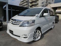 沖縄の中古車 トヨタ アルファードV 車両価格 129万円 リ済込 平成20年 6.2万K パール