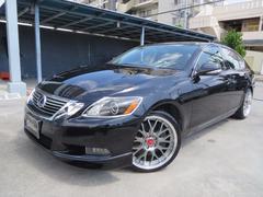 沖縄の中古車 レクサス GS 車両価格 195万円 リ済込 平成20年 3.9万K ブラック