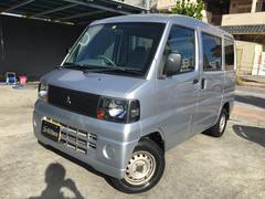 沖縄の中古車 三菱 ミニキャブバン 車両価格 34万円 リ済込 平成18年 1.7万K シルバー