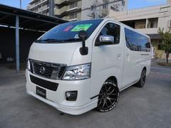 沖縄の中古車 日産 NV350キャラバンバン 車両価格 249万円 リ済込 平成25年 7.3万K ホワイト