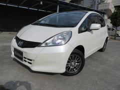 沖縄の中古車 ホンダ フィット 車両価格 45万円 リ済込 平成23年 5.6万K パールホワイト