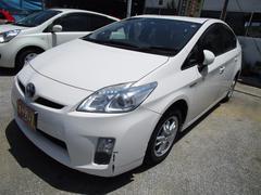 沖縄の中古車 トヨタ プリウス 車両価格 79万円 リ済込 平成23年 11.8万K パールM