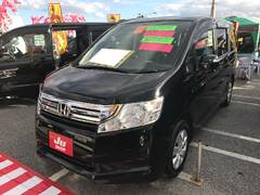 沖縄の中古車 ホンダ ステップワゴン 車両価格 87万円 リ済込 平成21年 8.3万K ブラック
