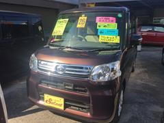 沖縄の中古車 ダイハツ タント 車両価格 102万円 リ済込 平成26年 4.2万K 茶色