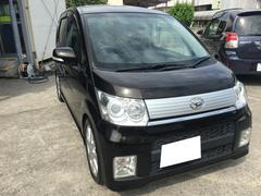 沖縄の中古車 ダイハツ ムーヴ 車両価格 59万円 リ済込 平成22年 6.0万K ブラック