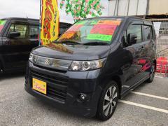 沖縄の中古車 スズキ ワゴンRスティングレー 車両価格 73万円 リ済込 平成24年 4.4万K ガンM