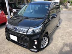 沖縄の中古車 スバル ステラ 車両価格 76万円 リ済込 平成25年 7.5万K ブラック