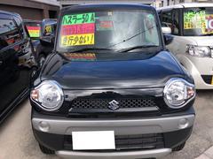 沖縄の中古車 スズキ ハスラー 車両価格 96万円 リ済込 平成26年 1.6万K ブラック