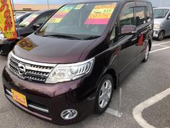 沖縄の中古車 日産 セレナ 車両価格 69万円 リ済込 平成22年 9.5万K ワイン
