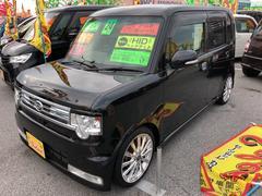 沖縄の中古車 ダイハツ ムーヴコンテ 車両価格 59万円 リ済込 平成24年 6.7万K ブラック