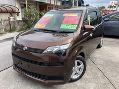 沖縄の中古車 トヨタ スペイド 車両価格 89万円 リ済込 平成25年 8.4万K ブラウン