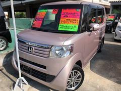 沖縄の中古車 ホンダ N BOX 車両価格 89万円 リ済込 平成25年 6.0万K ピンク