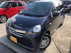 沖縄の中古車 ダイハツ ミライース 車両価格 49万円 リ済込 平成25年 8.1万K 紺