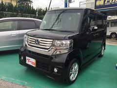 沖縄の中古車 ホンダ N BOXカスタム 車両価格 89万円 リ済込 平成24年 8.7万K パープル