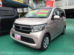 沖縄の中古車 ホンダ N−WGN 車両価格 80万円 リ済込 平成26年 2.9万K ピンクM