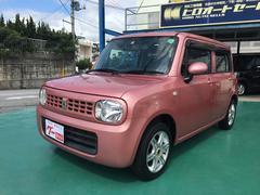 沖縄の中古車 スズキ アルトラパン 車両価格 55万円 リ済込 平成23年 7.0万K チェリーピンク