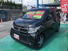 沖縄の中古車 ホンダ N−WGN 車両価格 71万円 リ済込 平成27年 8.4万K ブラック