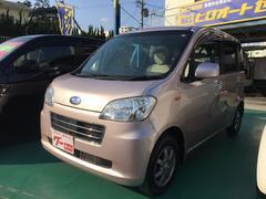 沖縄の中古車 スバル ルクラ 車両価格 57万円 リ済込 平成23年 5.5万K ピンク