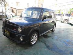 沖縄の中古車 スズキ アルトラパン 車両価格 76万円 リ済込 平成18年 7.8万K ブラック