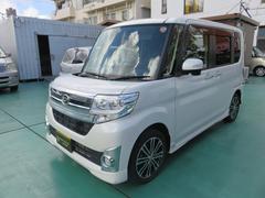 沖縄の中古車 ダイハツ タント 車両価格 139万円 リ済込 平成26年 1.5万K パールホワイト