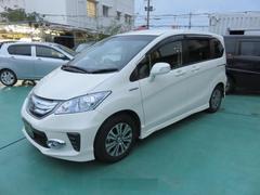 沖縄の中古車 ホンダ フリードハイブリッド 車両価格 139万円 リ済込 平成24年 8.9万K パールホワイト