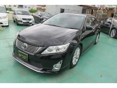 沖縄の中古車 トヨタ カムリ 車両価格 159万円 リ済込 平成23年 8.5万K ブラック