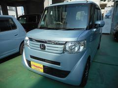 沖縄の中古車 ホンダ N BOX 車両価格 74万円 リ済込 平成24年 10.3万K ライトブルーM