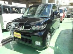 沖縄の中古車 ホンダ ゼストスパーク 車両価格 45万円 リ済込 平成22年 10.3万K ブラックM