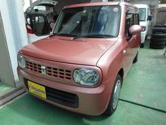 沖縄の中古車 スズキ アルトラパン 車両価格 49万円 リ済込 平成21年 8.2万K ピンクM