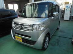 沖縄の中古車 ホンダ N BOX+ 車両価格 76万円 リ済込 平成25年 10.4万K シルバーM
