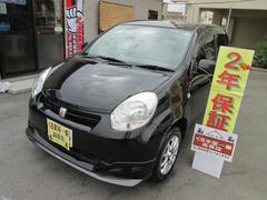 沖縄の中古車 トヨタ パッソ 車両価格 43万円 リ済込 平成23年 7.4万K ブラック
