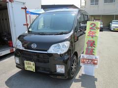 沖縄の中古車 ダイハツ タントエグゼ 車両価格 57万円 リ済込 平成22年 7.4万K ブラック