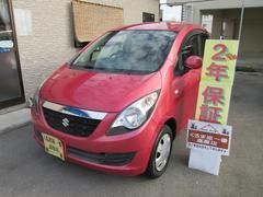 沖縄の中古車 スズキ セルボ 車両価格 35万円 リ済込 平成20年 7.4万K レッドIII