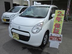 沖縄の中古車 スズキ アルト 車両価格 41万円 リ済込 平成24年 4.2万K ホワイト
