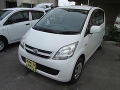 沖縄の中古車 ダイハツ ムーヴ 車両価格 25万円 リ済込 平成20年 11.0万K ホワイト