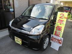 沖縄の中古車 スバル ステラ 車両価格 34万円 リ済込 平成21年 8.1万K ブラック