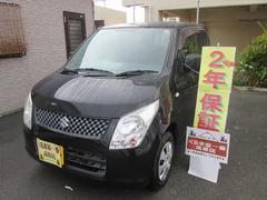 沖縄の中古車 スズキ ワゴンR 車両価格 35万円 リ済込 平成21年 7.5万K ブラック