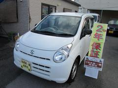 沖縄の中古車 スズキ アルト 車両価格 25万円 リ済込 平成22年 4.4万K ホワイト