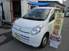 沖縄の中古車 スズキ アルト 車両価格 23万円 リ済込 平成22年 6.4万K ホワイト