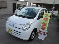 沖縄の中古車 スズキ アルト 車両価格 25万円 リ済込 平成23年 6.0万K ホワイト