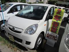 沖縄の中古車 ダイハツ ミラ 車両価格 23万円 リ済込 平成23年 7.2万K ホワイト