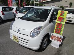 沖縄の中古車 スズキ アルト 車両価格 24万円 リ済込 平成23年 6.0万K ホワイト