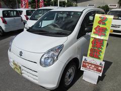 沖縄の中古車 スズキ アルト 車両価格 26万円 リ済込 平成23年 4.8万K ホワイト