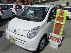 沖縄の中古車 スズキ アルト 車両価格 25万円 リ済込 平成23年 5.2万K ホワイト