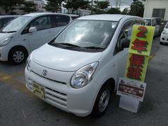沖縄の中古車 スズキ アルト 車両価格 24万円 リ済込 平成23年 5.8万K ホワイト