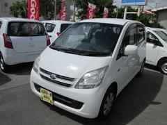 沖縄の中古車 ダイハツ ムーヴ 車両価格 22万円 リ済込 平成20年 10.5万K ホワイト