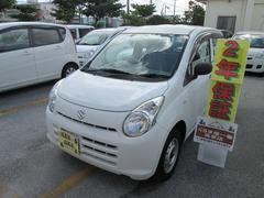 沖縄市 くるま屋一番 高原店 スズキ アルト VP ホワイト 4.5万K 平成22年