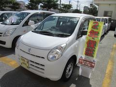 沖縄の中古車 スズキ アルト 車両価格 29万円 リ済込 平成25年 5.9万K ホワイト