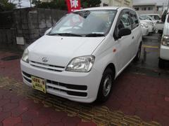 沖縄の中古車 ダイハツ ミラ 車両価格 9万円 リ済込 平成19年 10.0万K ホワイト